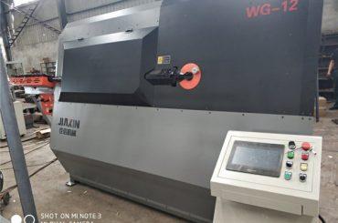 4-12mm හයිඩ්රොලික් අළුත් CNC 2D වයර් නැංවීමේ යන්ත්ර සැපයුම්කරු